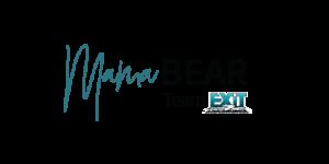 Mama Bear Logo Team Real Estate, EXIT Realty Logo Image