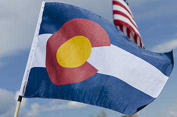 State of Colorado Flag Image